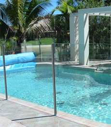 Stainless steel balustrade swimming pool fencing