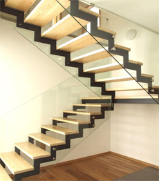 Z shape stairs
