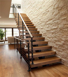 Villa house contemporary customized solid wood stairs|Staircase manufacturer