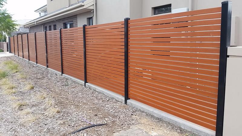 Diy Aluminium Slat Garden Fencing